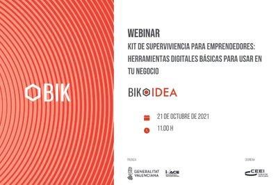 Webinar BIK: Herramientas digitales básicas para usar en un negocio