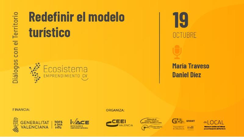 Presentación Daniel Díez 'Redefinir el modelo turístico'