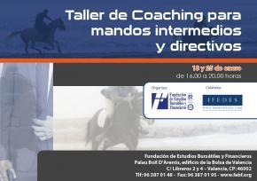 La FEBF organiza un taller de Coaching para directivos y mandos intermedios