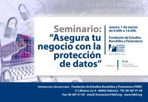 La FEBF organiza un seminario sobre la protección de datos ante los retos de las TIC