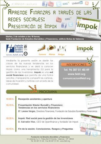 La FEBF organiza una jornada de presentación de la red social financiera: Impok