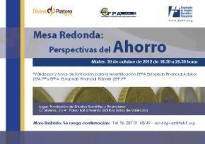 La FEBF analiza junto a Divina Pastora y EFPA España los diferentes mecanismos de ahorro