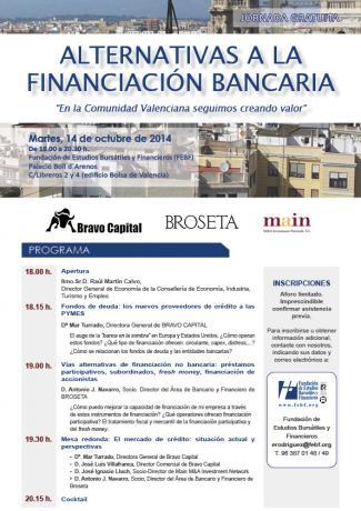 JornadaAlternativasalafinanciacionbancaria