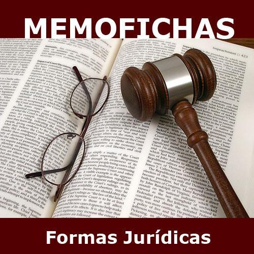 Formas jurídicas Memofichas