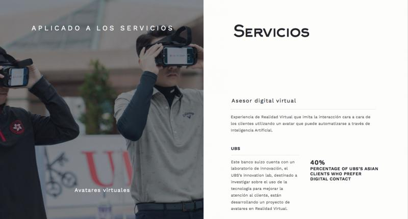 Realidad Virtual en el sector financiero