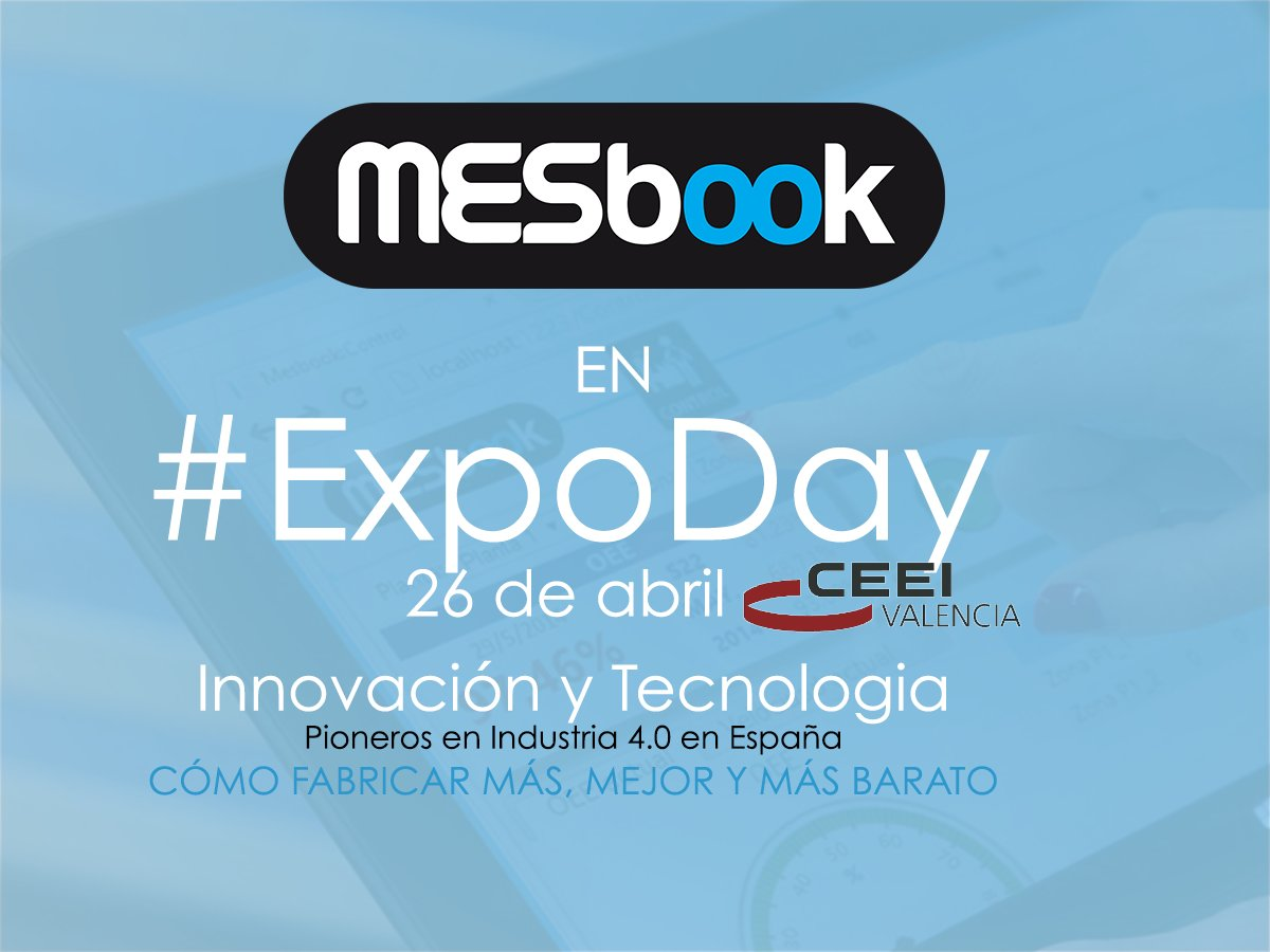 MESbook en Expo Day 2018