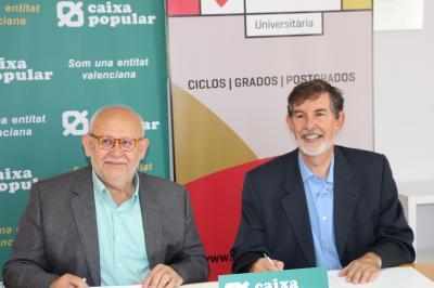 Florida Universitària y Caixa Popular firman un acuerdo para promover la cultura del cooperativismo