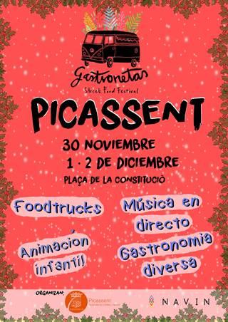 GASTRONETAS, llega a Picassent por segundo año para celebrar la llegada de la Navidad