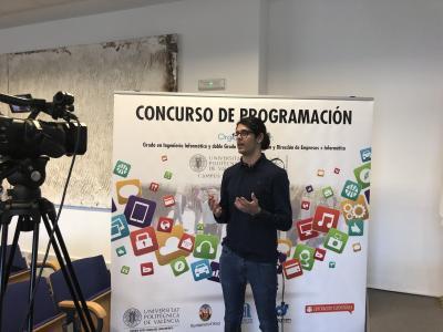 La APP de un alumno de Xúquer Centre Educatiu recibe el primer premio del VIII concurso de programación de la politécnica