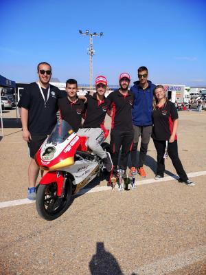 Florida Universitària se impone en la primera carrera del Campeonato Nacional de Motociclismo Universitario