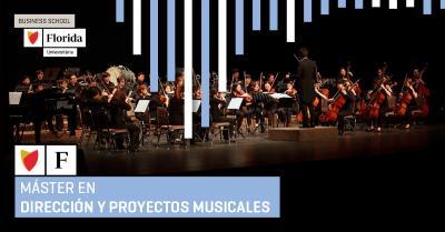 Enrique García Asensio presenta el primer Máster en Dirección y Proyectos Musicales que impartirá Florida Universitària