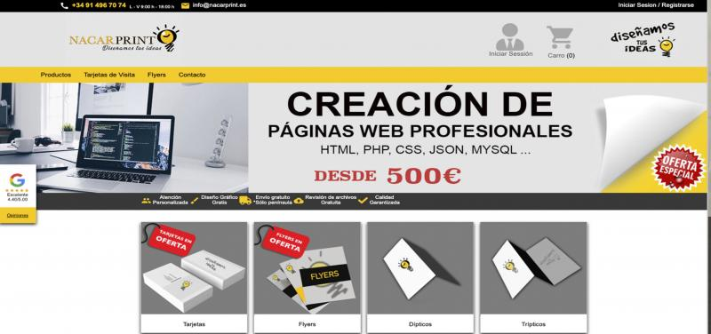 web nacarprint