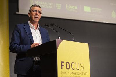 Conseller de Economía, Rafael Climent en la apertura institucional