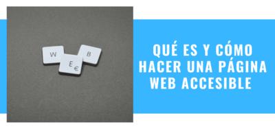 paginas web accesibles