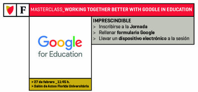 MasterClass: Working together better with Google in education