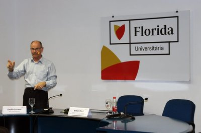 Willem Toet imparte una clase magistral en Florida Universitària