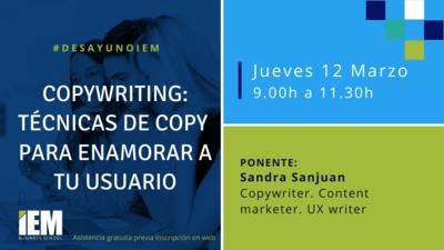 desayuno-iem-copywriting-tecnicas-de-copy