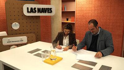 Florida Universitària firma un convenio con Las Naves
