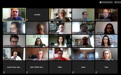 Sesión online con agentes ecosistema emprendimiento