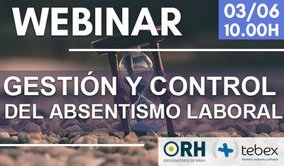 Webinar ORH: Gestión y control de Absentismo laboral