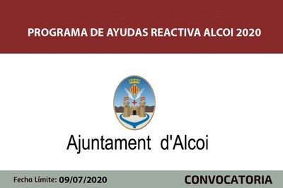 Ayudas Reactiva Alcoi 2020