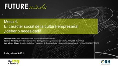FUTUREminds: El carácter social de la cultura empresarial, ¿deber o necesidad?