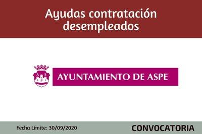 Ayudas Contratación de desempleados - Ayto de Aspe