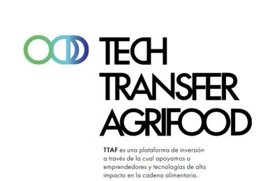 Convocatoria: Tech Transfer Agrifood