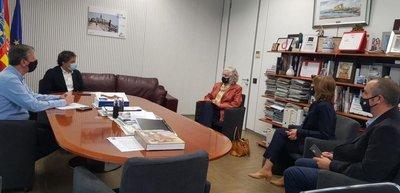 Florida Universitària se reúne con el Secretario Autonómico de la AVT de la Generalitat para establecer líneas de colaboración