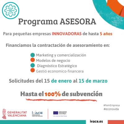 Ayudas ASESORA 2021