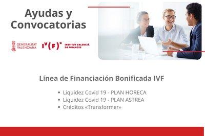 El IVF pone en marcha nuevos instrumentos financieros para los sectores mas afectados por el Covid19