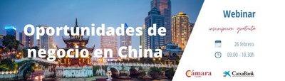 Webinar: Oportunidades de negocio en China