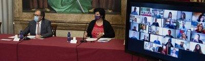 La Diputación aprueba su adhesión al 'Plan Resistir' con 4,1 millones de euros para transferir a los ayuntamientos.