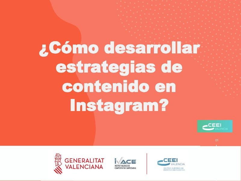 Estrategias de contenido en Instagram