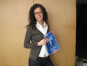 Delphine Hauspy gerente de la Unidad de Negocios de Servicios Escolares
