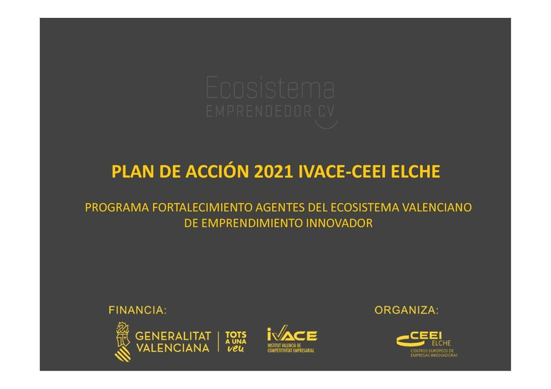 Presentación Actividades 2021 para Agentes del Ecosistema de Emprendimiento