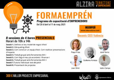 FORMAEMPRÉN. Programa de capacitación de emprendedores