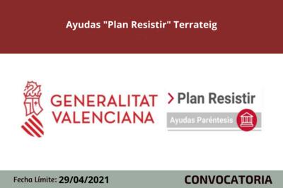 "Ayudas ""Plan Resistir"" Terrateig"