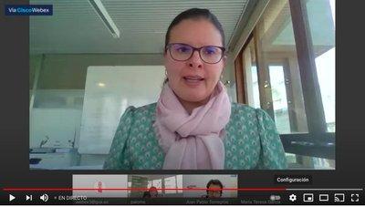Directora General de Emprendimiento y Cooperativismo, Teresa García Muñoz