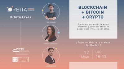 Orbita Live: Startups, Blockchain, Bitcoin y Crypto