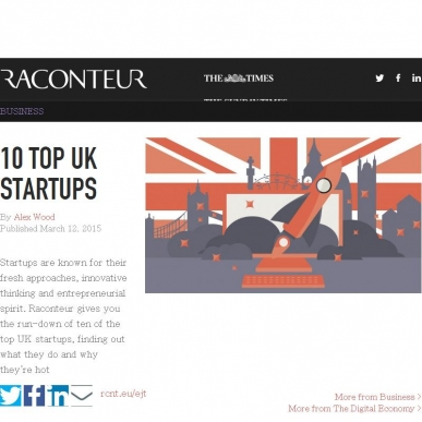 10 TOP UK STARTUPS
