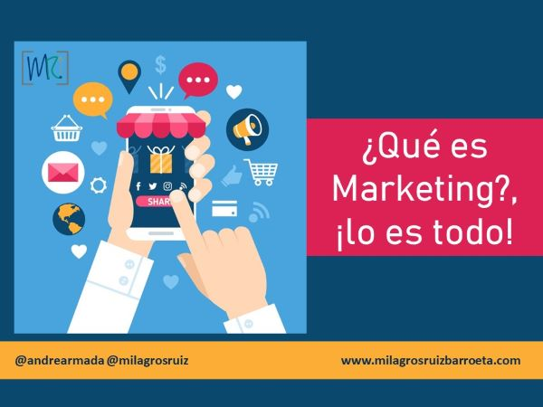 ¿Qué es Marketing?, ¡lo es todo!
